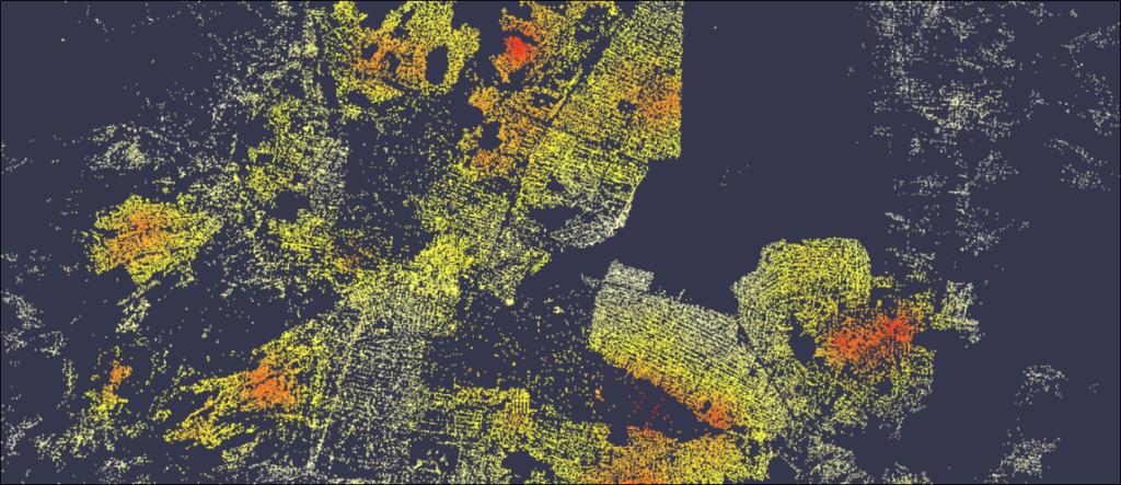 esultado de índice de riesgo para todos los puntos de venta del Cliente en la Zona Metropolitana de la Ciudad de México
